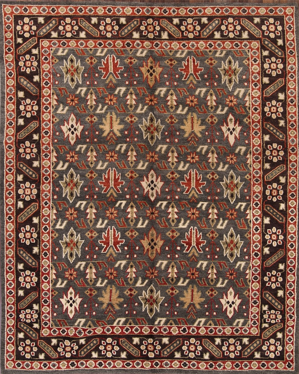 Area Rugs From India: 8x10 Kazak Indian Oriental Area Rug