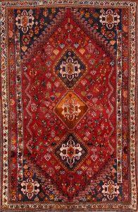 5x9 Ghashghaei Persian Area Rug