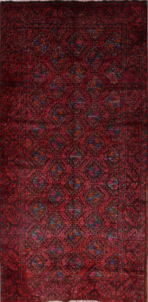 5x10 Hamedan Persian Rug Runner