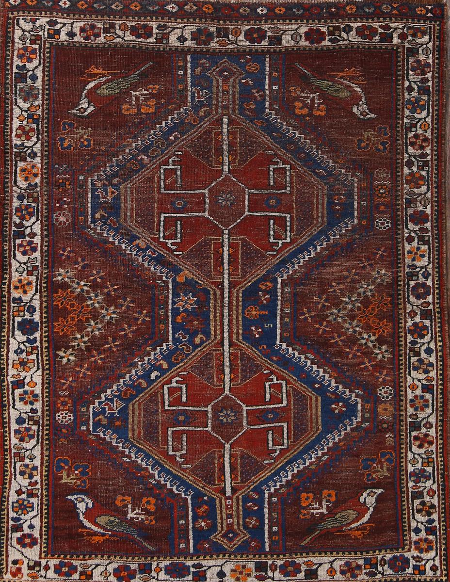 5x6 Ghashghaie Persian Area Rug