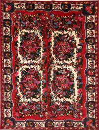 7x9 Bakhtiari Persian Area Rug