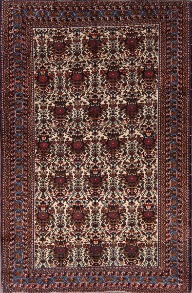 5x7 Afshar Kerman Persian Area Rug