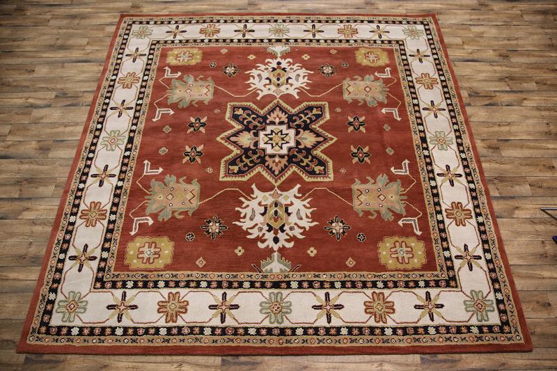 Square 12x12 Kazak Oriental Area Rug