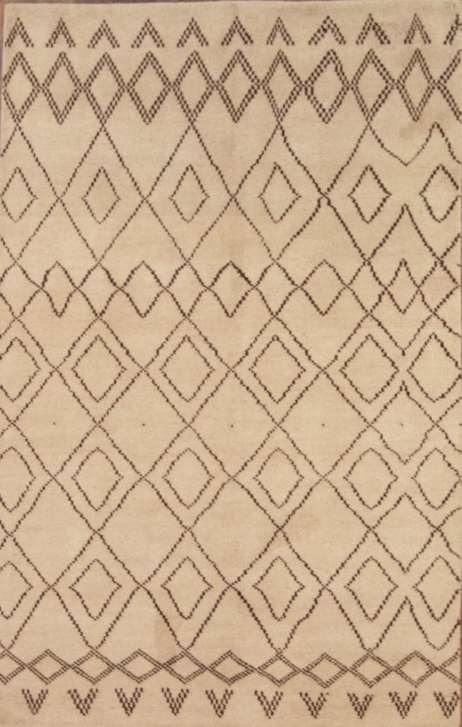 5x8 Moroccan Oushak Oriental Area Rug
