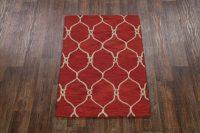 3x5 Moroccan Trellis Oushak Oriental Rug