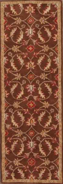 3x8 Tabriz Agra Oriental Rug Runner