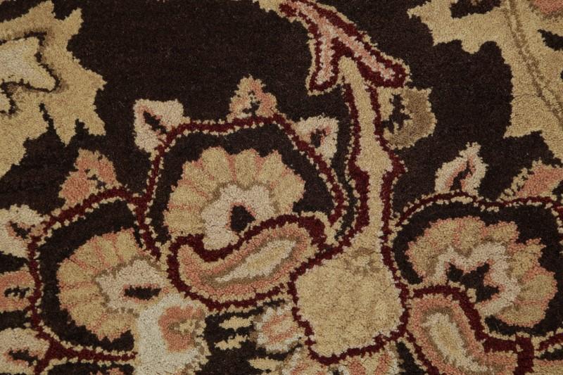 Transitional Floral 3x8 Tabriz Agra Oriental Rug Runner