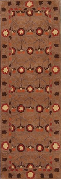 3x8 Oushak Agra Oriental Rug Runner