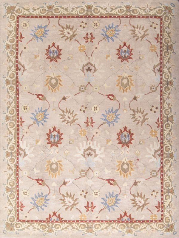 8x11 Agra Oushak Oriental Area Rug