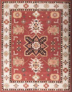 8x11 Kazak Oushak Agra Oriental Area Rug