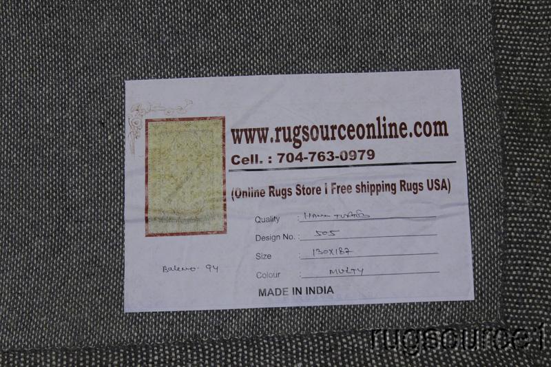 4x6 Oushak Agra Oriental Area Rug