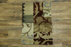 2x3 Oushak Patchwork Oriental Rug