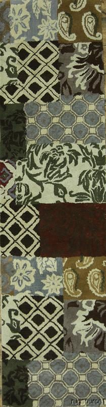 2x10 Oushak Oriental Area Rug