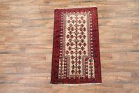 3x6 Balouch Afghan Oriental Runner Rug