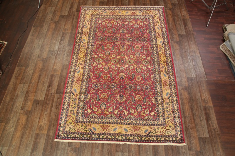 7x11 Antique Tehran Persian Area Rug