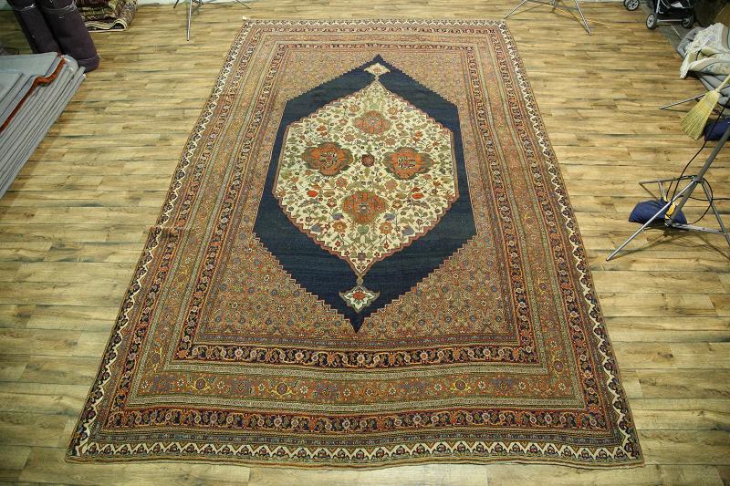 12x18 Bidjar Halvaei Persian Rug