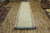 Antique 6X29 Sultanabad Persian Runner Rug