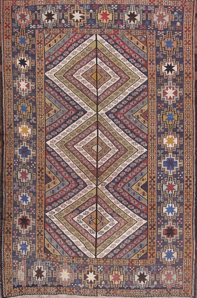 4x6 Sumak Persian Area Rug