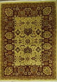 7x9 Sarouk Persian Area Rug