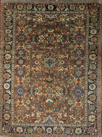 9x12 Meshkabad Persian Area Rug