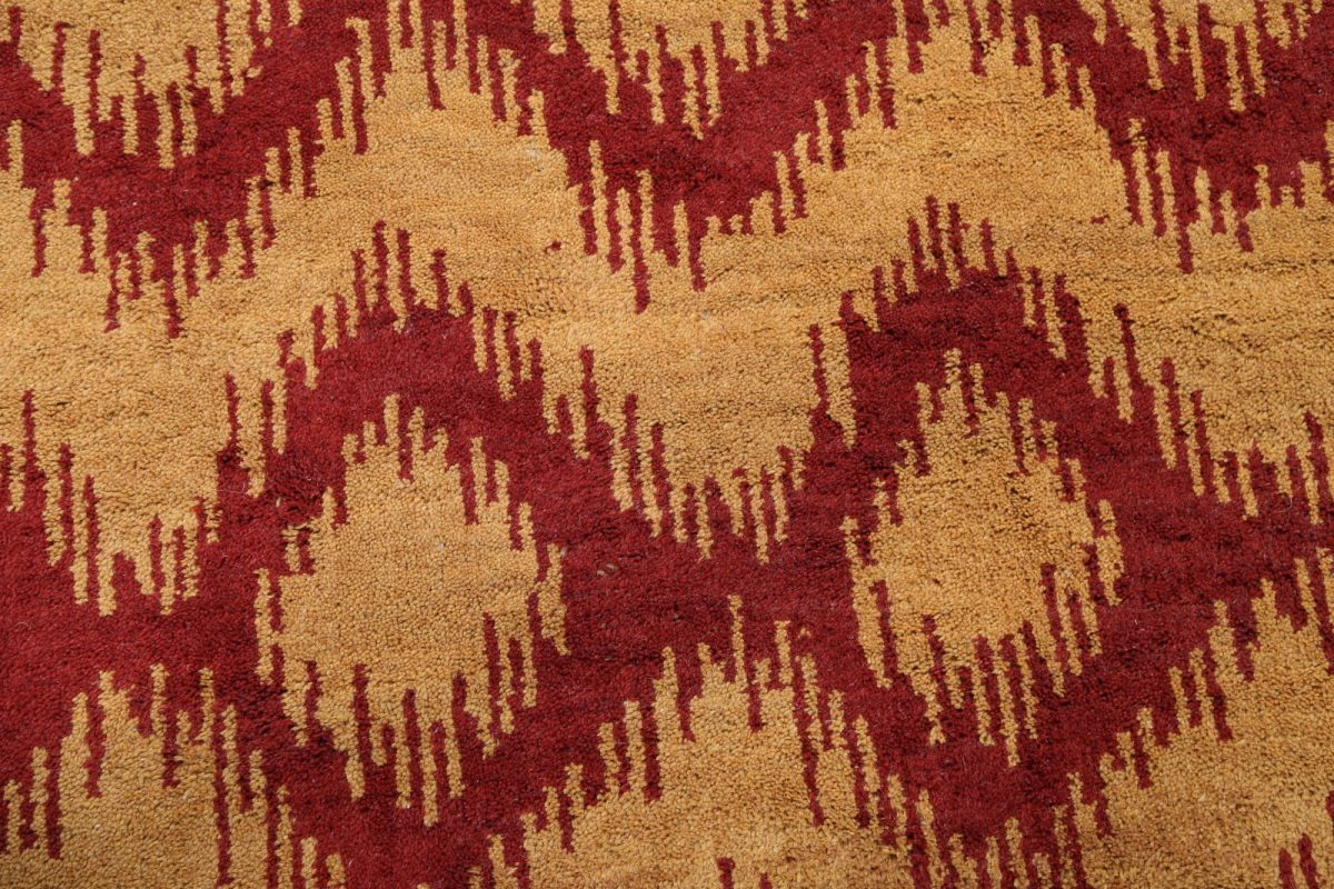 Geometric Modern 5x7 Moroccan Trellis Oushak Indian Oriental Area Rug