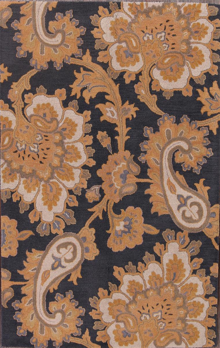 5x8 Oushak Agra Oriental Area Rug