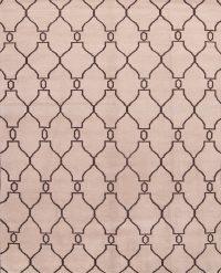 Ivory 8x10 Moroccan Trellis Oriental Area Rug