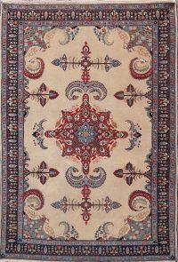 5x7 Sarouk Farahan Persian Oriental Area Rug