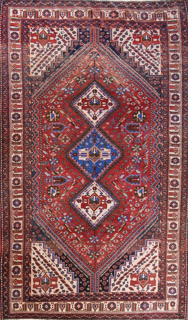 7x12 Abadeh Nafar Persian Area Rug