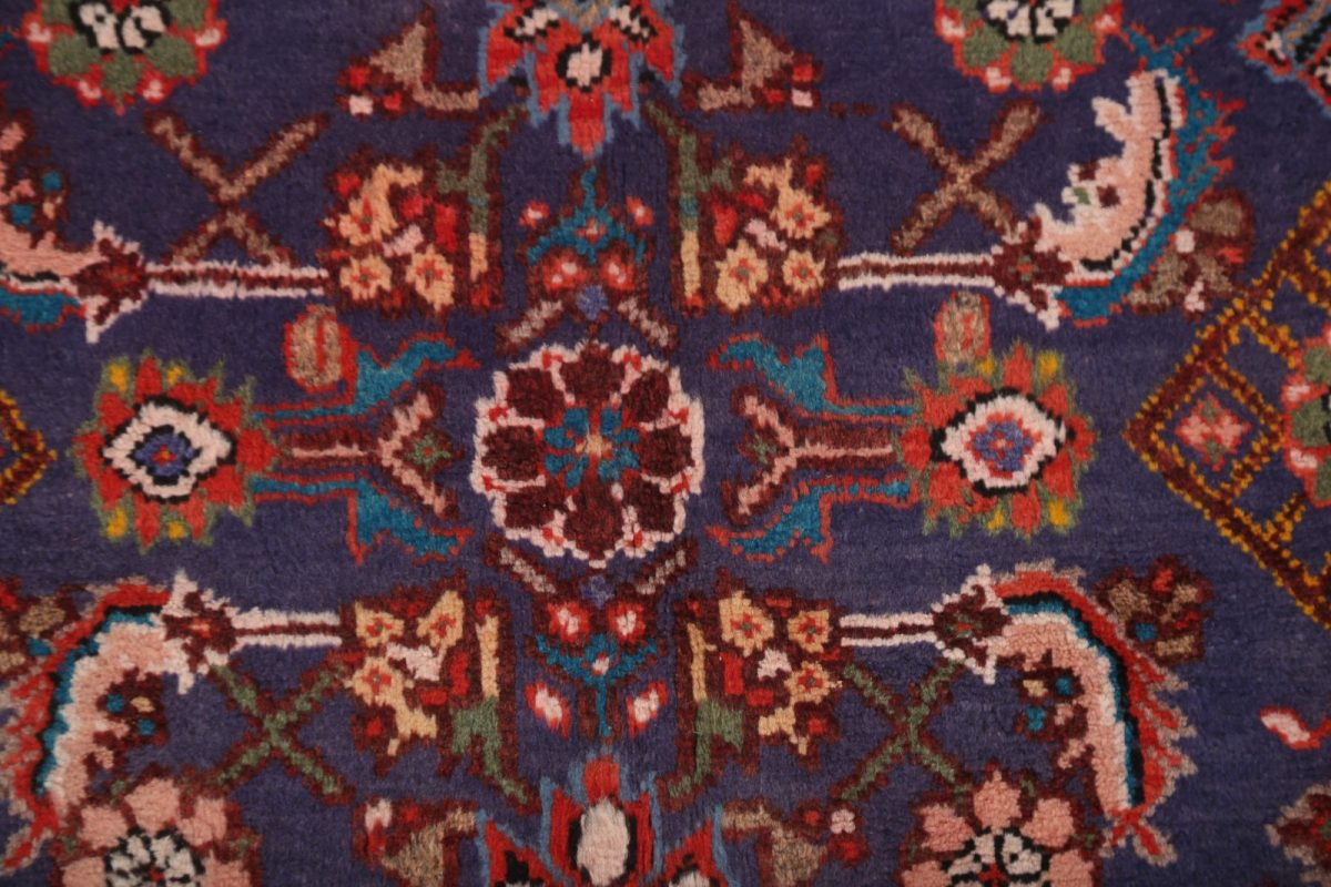 3x12 Malayer Hamadan Persian Rug Runner