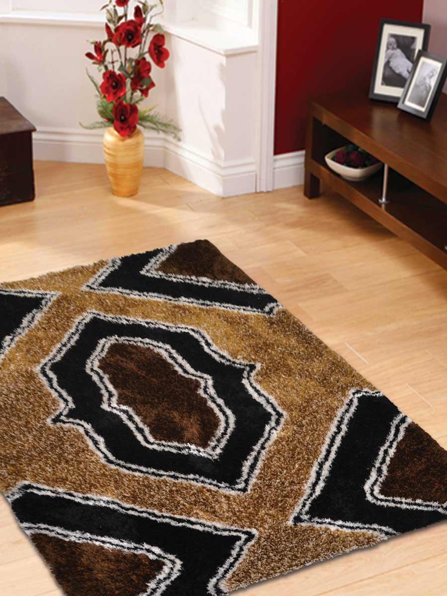 5x8 Shaggy Oriental Area Rug