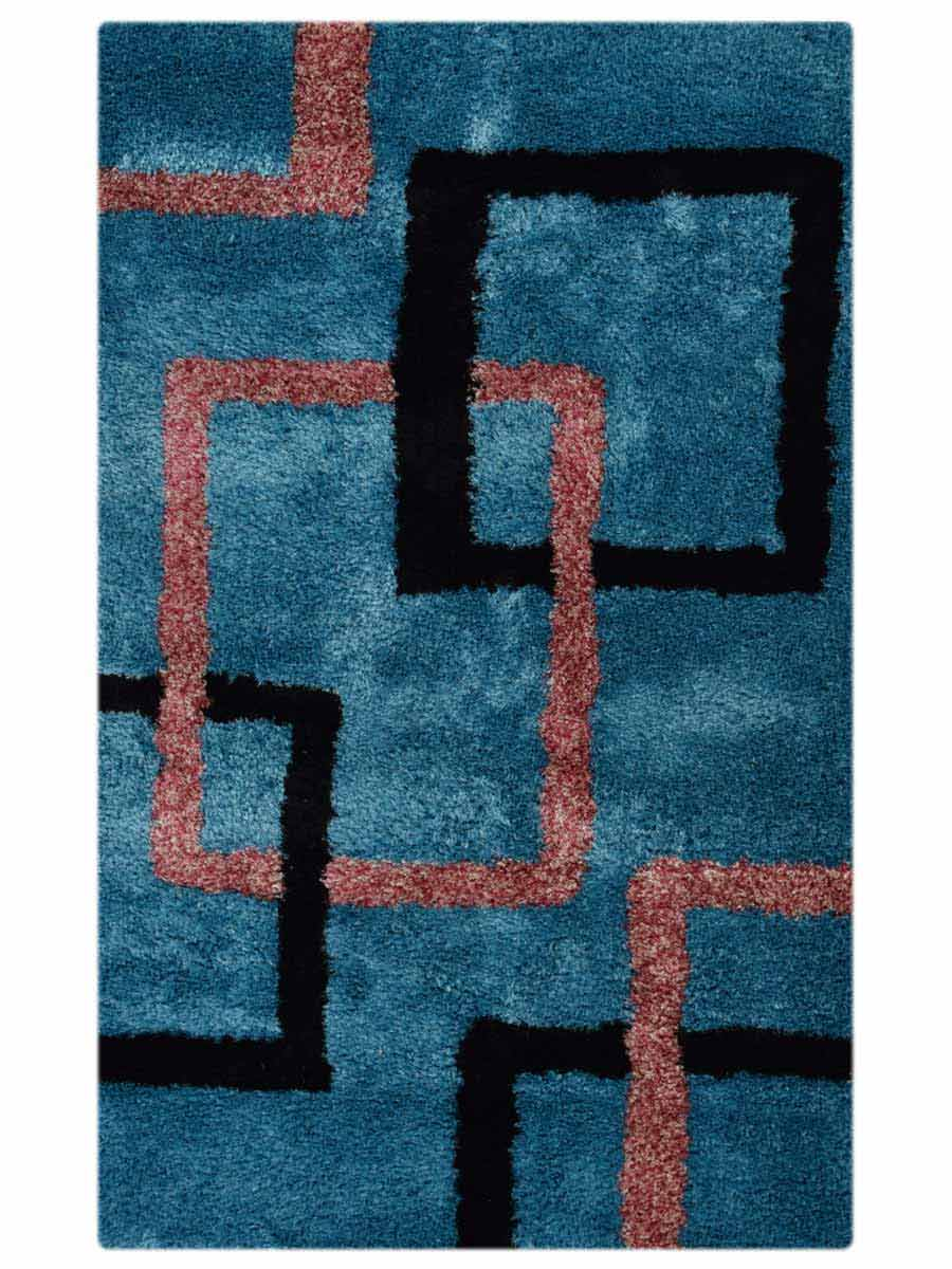 6x9 Shaggy Oriental Area Rug