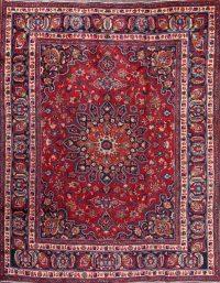 9x11 Mashad Persian Area Rug