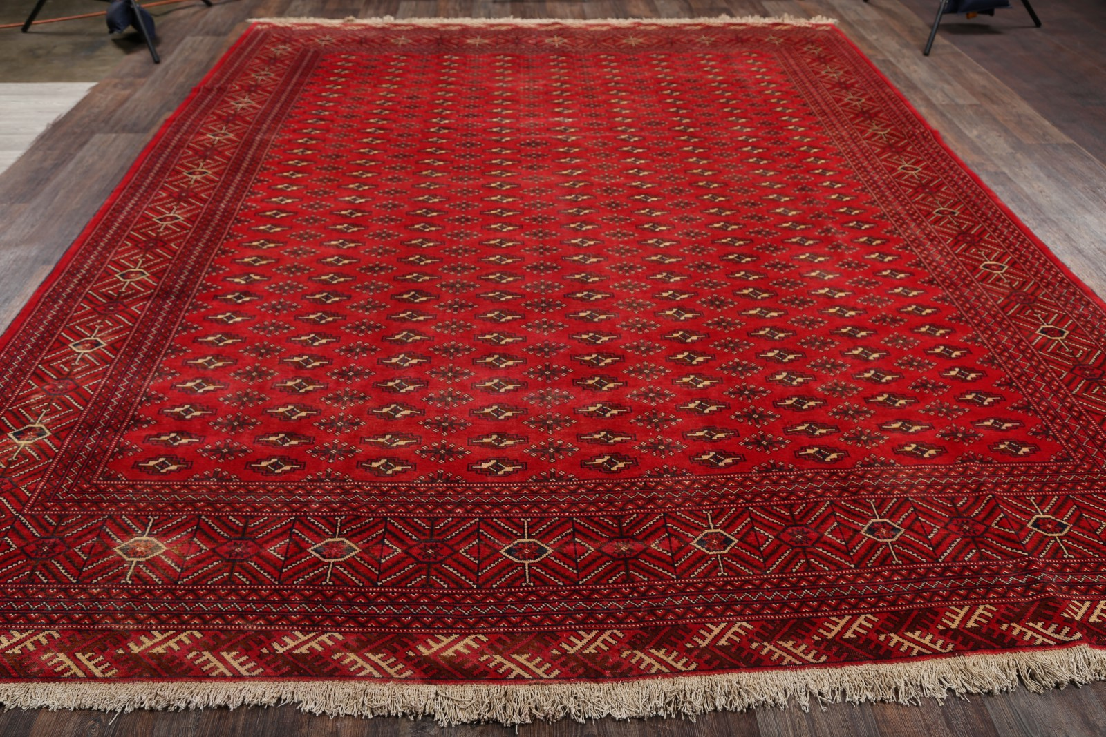 10x12 Turkoman Persian Area Rug
