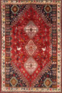 5x7 Abadeh Persian Area Rug