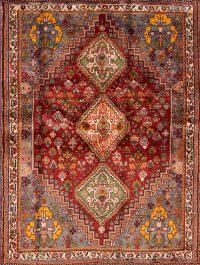 4x5 Abadeh Nafar Persian Area Rug