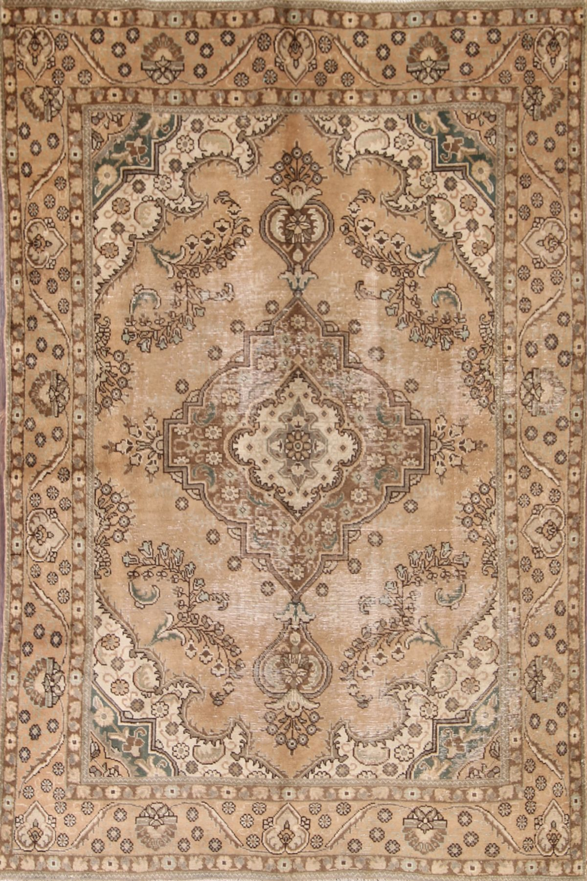 6x9 Tabriz Persian Area Rug Rug Source
