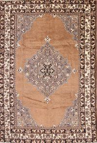 7x10 Ferdos Mashad Persian Area Rug