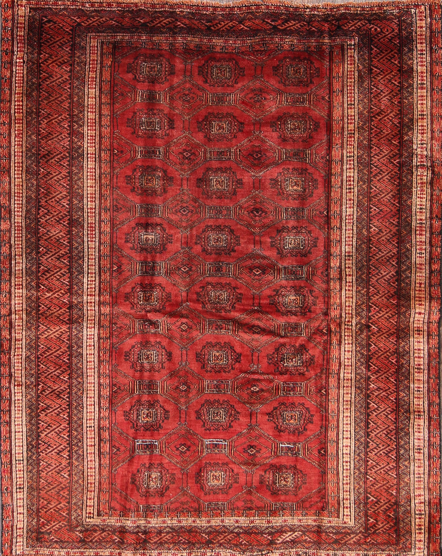 4x6 turkoman bokhara persian area rug - Bokhara Rug