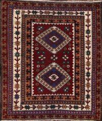 4x4 Kazak Anatolian Turkish Oriental Area Rug