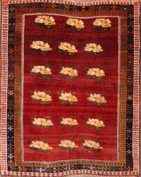 3x4 Ghashghaie Shiraz Persian Area Rug