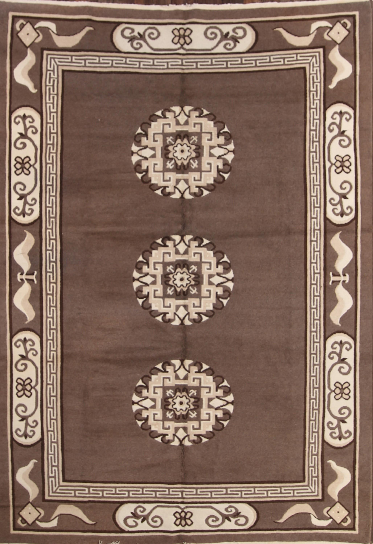 7x10 Kazak Indian Oriental Area Rug