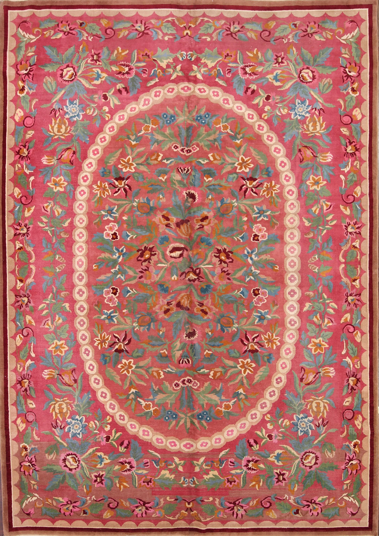 10x14 Art Deco Nichol Chinese Oriental Area Rug