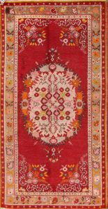 3x6 Anatolian Turkish Oriental Area Rug