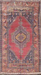 4x8 Anatolian Turkish Oriental Rug Runner