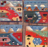 2x2 Kilim Persian Hand Made Rug