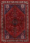 6x8 Shiraz Abadeh Persian Area Rug