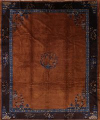 10x11 Art Deco Chinese Area Rug