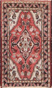 1x2 Hamedan Persian Area Rug