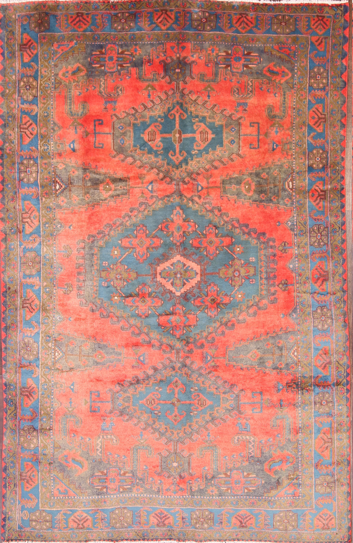 7x10 Viss Mahal Persian Area Rug